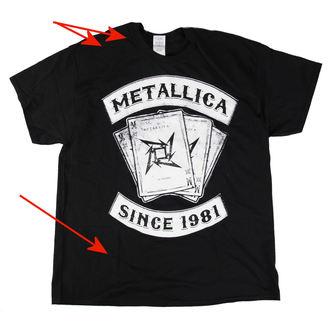 metál póló férfi Metallica - Black Dealer - LIVE NATION, LIVE NATION, Metallica
