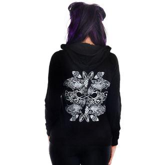 kapucnis pulóver női - BURNOUT - TOO FAST, TOO FAST