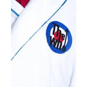 The Who fürdőköpeny - Logo - fehér / Kék, Who
