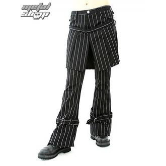nadrág női ADERLASS - Skirt Pants Pin Stripe (Black-White), ADERLASS