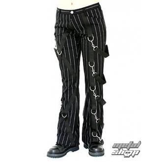 nadrág női ADERLASS - Cross Pants Pin Stripe (Black-White), ADERLASS