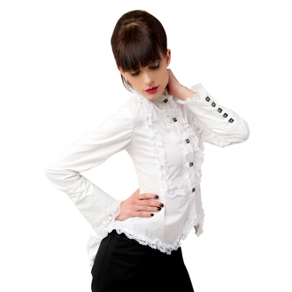 blúz női ADERLASS - Wing Blouse Fine Denim White, ADERLASS
