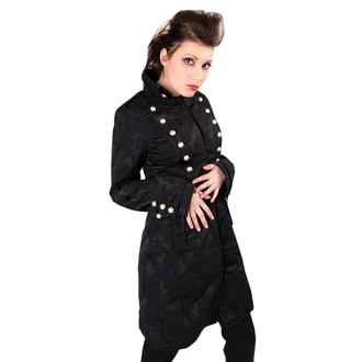kabát női ADERLASS - Ladys Corsair Coat Brocade Black, ADERLASS