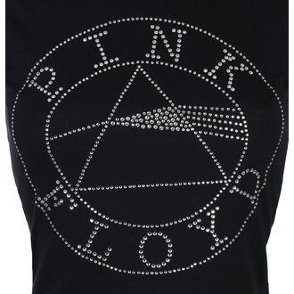 metál póló női Pink Floyd - Circle Logo Diamante - ROCK OFF, ROCK OFF, Pink Floyd
