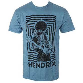 metál póló férfi Jimi Hendrix - AUTHENTIC SQUARES BLUE - BRAVADO, BRAVADO, Jimi Hendrix