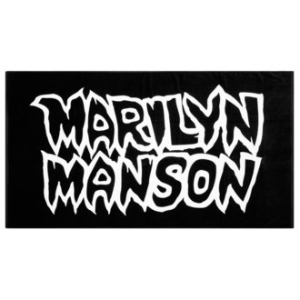 KILLSTAR törülköző - MARILYN MANSON - Avoid The Sun - Fekete, KILLSTAR, Marilyn Manson
