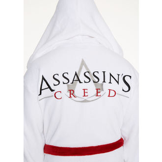 Assasins Creed Fürdőköpeny - White Logo, NNM
