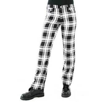 nadrág férfi Black Pistol - Tartán Pants Black-White, BLACK PISTOL