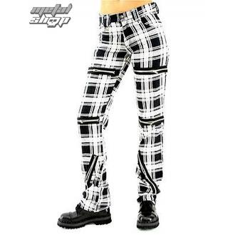 nadrág női Black Pistol - Destroy Pants Tartán (Black/White), BLACK PISTOL