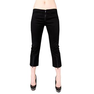 rövidnadrág 3/4 női Black Pistol - Zip Slacks Denim Black, BLACK PISTOL