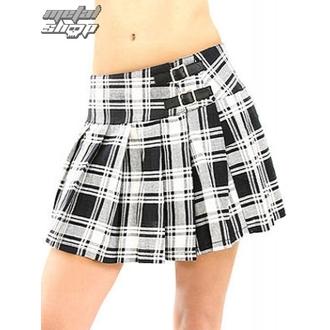 szoknya női Black Pistol - Buckle Mini Tatran - Black-White, BLACK PISTOL