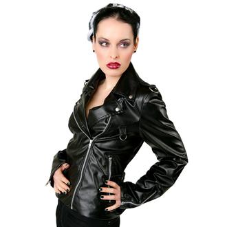 bőrdzseki női - Biker Jacket Sky Black - BLACK PISTOL, BLACK PISTOL