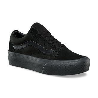 rövidszárú cipő női - UA OLD SKOOL PLATFOR Black/Black - VANS, VANS