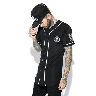 BLACK CRAFT Unisex póló - Team Satan Baseball Jersey, BLACK CRAFT