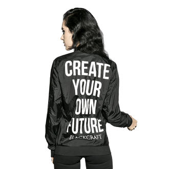 tavaszi/őszi dzseki unisex - Create Your Own Future - BLACK CRAFT