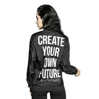 tavaszi/őszi dzseki unisex - Create Your Own Future - BLACK CRAFT, BLACK CRAFT