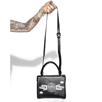 BLACK CRAFT Kézitáska - Two Finger Salute Mini Satchel, BLACK CRAFT