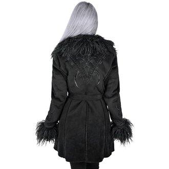 KILLSTAR Női kabát - Belladonna Shearling - FEKETE, KILLSTAR