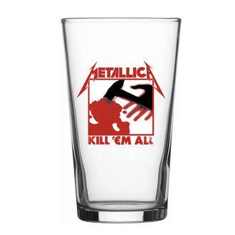 Metallica Üvegpohár - Kill Em All - RAZAMATAZ, RAZAMATAZ, Metallica