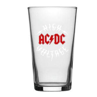 AC  /  DC Üvegpohár - High Voltage - RAZAMATAZ, RAZAMATAZ, AC-DC