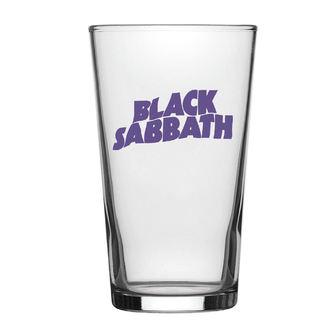 Black Sabbath Üvegpohár - Purple Logo - RAZAMATAZ, RAZAMATAZ, Black Sabbath