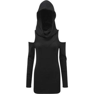 póló női - BIBLIOMANCY- BLACK - KILLSTAR
