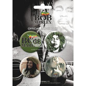 jelvények - BOB MARLEY - BP0056, GB posters, Bob Marley