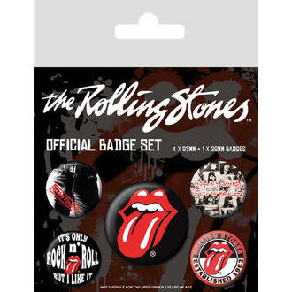 Rolling Stones Kitűzők - (&&string0&&) - PYRAMID POSTERS, PYRAMID POSTERS, Rolling Stones