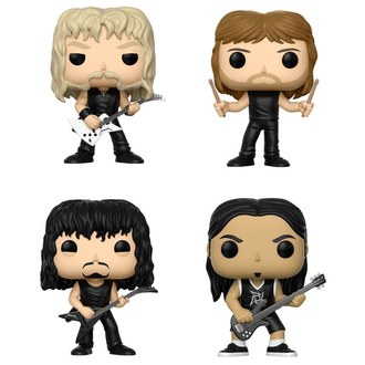 Metallica Figurák - Band, POP, Metallica