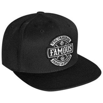 FAMOUS STARS & STRAPS Sapka - CHAOS - FEKETE, FAMOUS STARS & STRAPS
