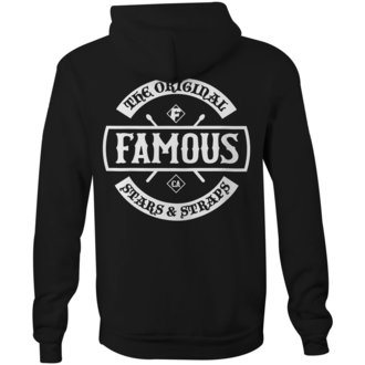 kapucnis pulóver férfi - CHAOS - FAMOUS STARS & STRAPS, FAMOUS STARS & STRAPS