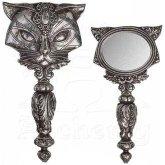 ALCHEMY GOTHIC Tükör (dekoráció) - Cat, ALCHEMY GOTHIC