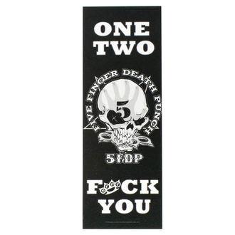 Five Finger Death Punch Zászló - One teo Fuck You, HEART ROCK, Five Finger Death Punch