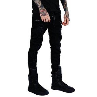 KILLSTAR Unisex Nadrág  - Diablo Jeans - FEKETE, KILLSTAR