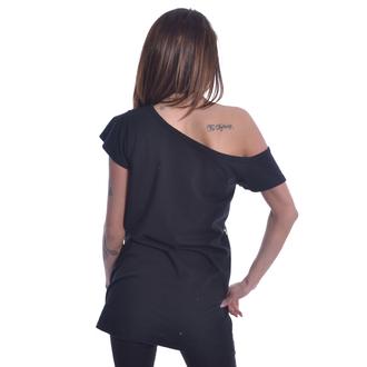 tričko dámské Heartless - YING YANG KITTY OFF SHOULDER - BLACK, HEARTLESS