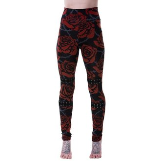 KILLSTAR Női Leggings - EDEN - FEKETE, KILLSTAR