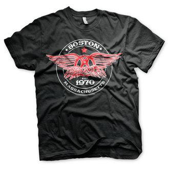 metál póló férfi Aerosmith - Est. 1970, Boston - HYBRIS, HYBRIS, Aerosmith