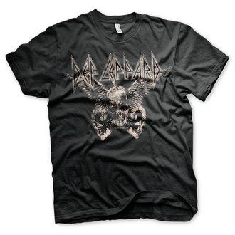 metál póló férfi Def Leppard - Flying Skulls - HYBRIS, HYBRIS, Def Leppard
