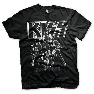 metál póló férfi Kiss - Hottest Show On Earth - HYBRIS, HYBRIS, Kiss