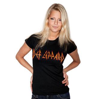 metál póló női Def Leppard - Distressed - HYBRIS, HYBRIS, Def Leppard