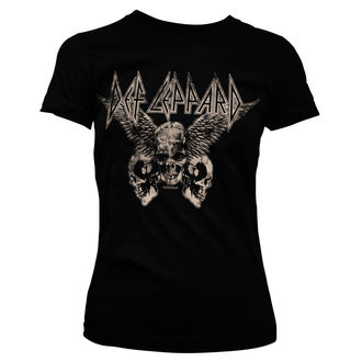 metál póló női Def Leppard - Flying Skulls - HYBRIS, HYBRIS, Def Leppard