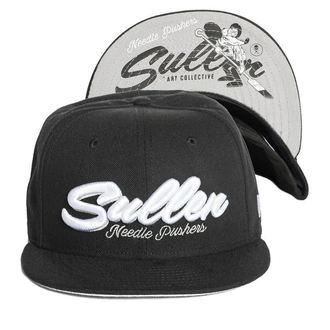 SULLEN Sapka - NEEDLE PUSHER - FEKETE, SULLEN