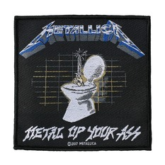 METALLICA Felvarró - METAL UP YOUR ASS - RAZAMATAZ, RAZAMATAZ, Metallica