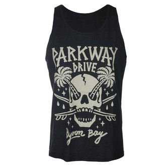 Férfi tartály felső Parkway Drive - Skull Palms - Faszén - KINGS ROAD, KINGS ROAD, Parkway Drive