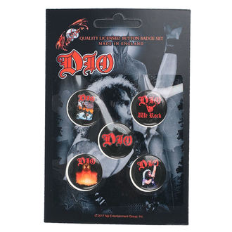 Dio Kitűzők - We Rock - RAZAMATAZ, RAZAMATAZ, Dio