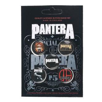 Pantera Kitűzők - 101 Proof - RAZAMATAZ, RAZAMATAZ, Pantera