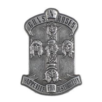 Guns N' Roses Kitűző - Appetite - RAZAMATAZ, RAZAMATAZ, Guns N' Roses