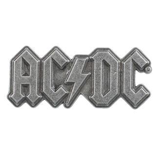 AC  /  DC Kitűző - Metal Logo - RAZAMATAZ, RAZAMATAZ, AC-DC