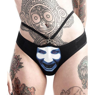 KILLSTAR női alsónemű  - Marilyn Manson - Isten nak,-nek Bassza - Fekete, KILLSTAR, Marilyn Manson