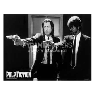poszter - Pulp Fiction (B&W Guns) - GPP51003, PYRAMID POSTERS